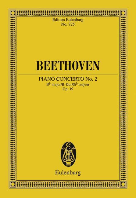 Piano concerto no.2 in B flat Major op.19 image